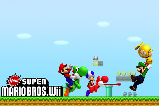 Download: New Super Mario Bros Wii Wallpapers - Australian Nintendo News