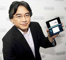 """Satoru Iwata: """"Richer"""" 3DS Third Party Lineup from Western Developers Coming"""