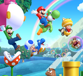 Download sizes for New Super Mario Bros. U and Nintendo Land Revealed