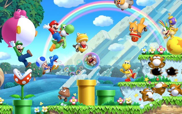 New Super Mario Bros. U update now available, changes Miiverse posts