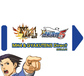 Monster Hunter 4 and Phoenix Wright Japanese Nintendo Direct Incoming This Week