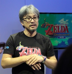 Aonuma answered our questions about a possible 'hard mode' for Wind Waker HD.