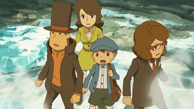 Layton 7 announced, it's not the Layton you know