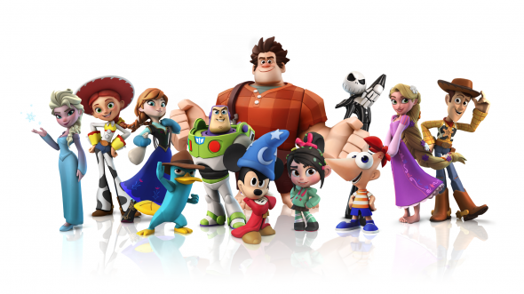 Disney Infinity_Holiday_Character Lineup