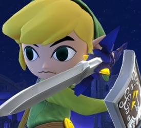 Toon Link returns in Super Smash Bros. Wii U & 3DS