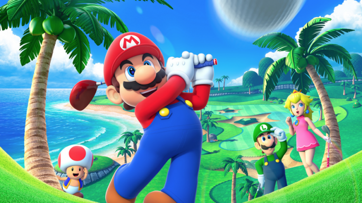Mario Golf World Tour features light RPG elements with your Mii
