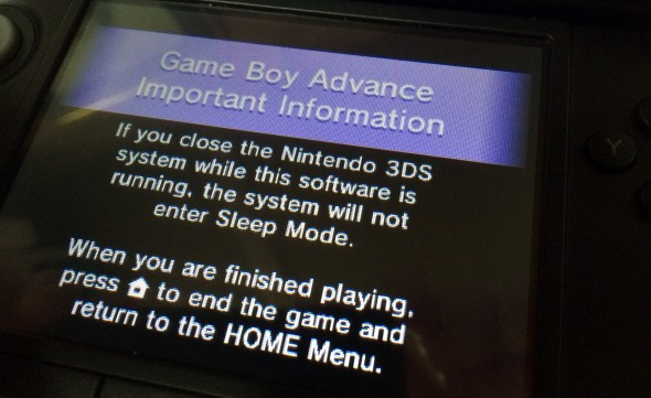Why the Game Boy Advance isn't on the 3DS Virtual Console
