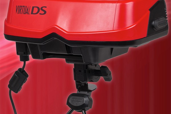 [April Fools] Nintendo returns to virtual reality with the Virtual DS, successor to the Virtual Boy