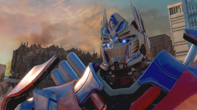 Transformers - Rise of the Dark Spark Screenshot 02