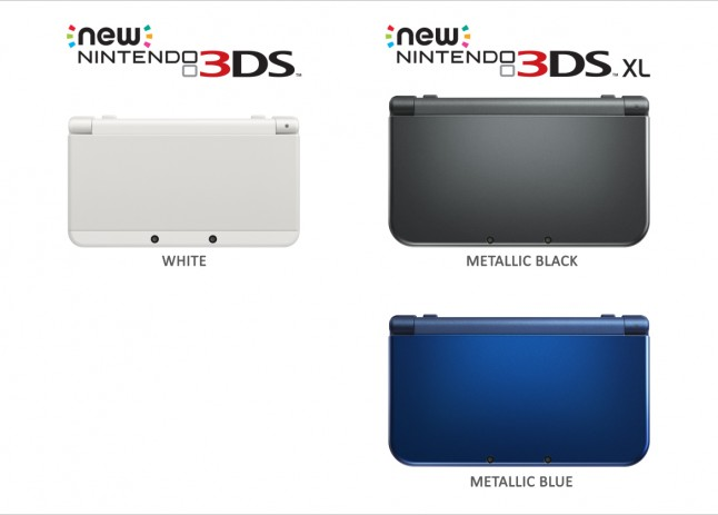 Nintendo 3ds Xl Colors : New nintendo ds and xl launch in australia