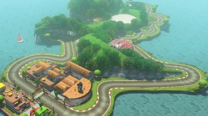Double Dash's Yoshi Circuit returns in the first Mario Kart 8 DLC Pack