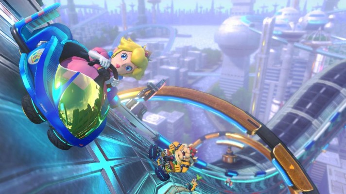 First Mario Kart 8 DLC hits on November 13th, Amiibo support detailed