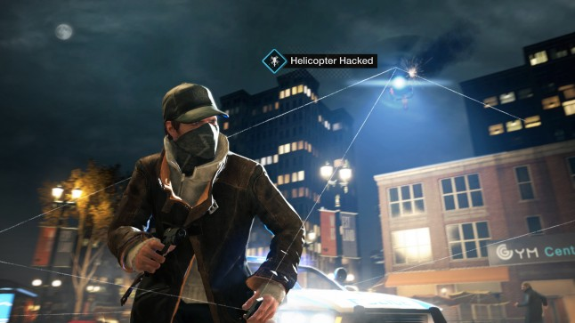 Watch Dogs Wii U - Helicopter
