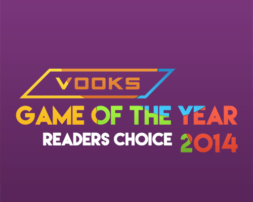 Vooks Game of the Year Awards 2014: Reader's Choice