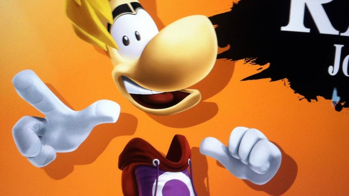 Rayman isn't in Super Smash Bros. for Wii U and 3DS, faker outs himself