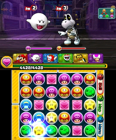 3DS PuzzleandDragonsSMB 011415 Scrn09 Puzzle & Dragons Z + Super Mario Bros. Edition   3DS Review