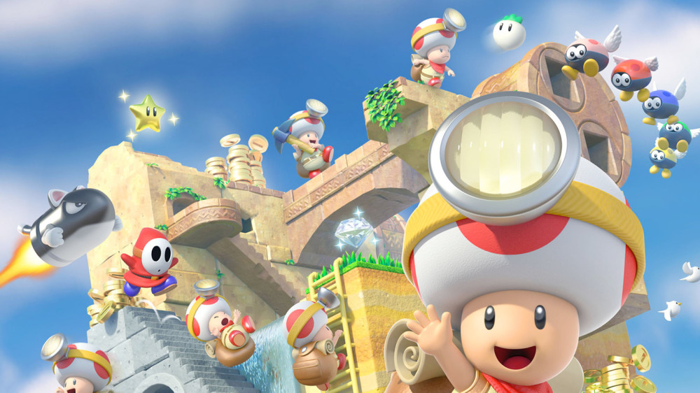 Captain Toad is coming to Switch and 3DS