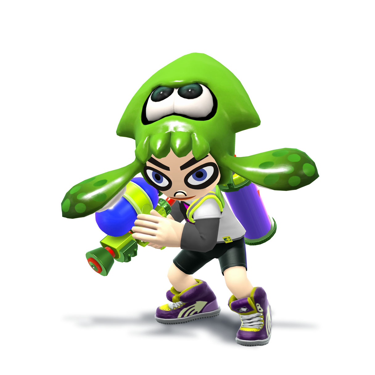 Splatoon Splashes Into Super Smash Bros With Fighter Costumes New 3DS Cover Plates And More