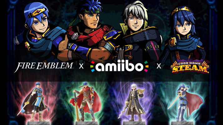 Watch: Code Name S.T.E.A.M. Marth, Ike, Robin and Lucina amiibo walkthrough