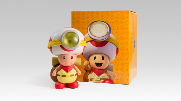 Captain Toad lamp added to Club Nintendo in Australia