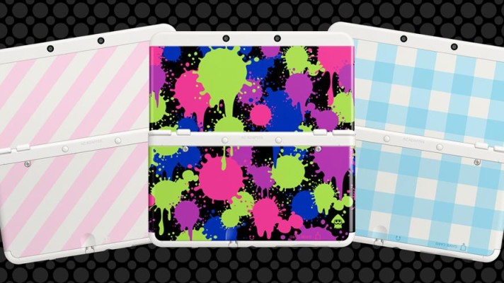Splatoon themed New 3DS cover plate lands in Australia on July 4th