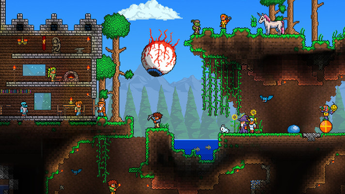 Terraria creates an even more crowded eShop on December 10th