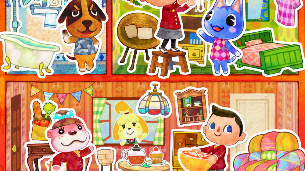 Animal crossing happy home designer moves in this for 7 11 happy home designer