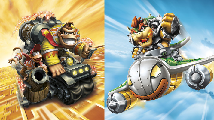 E3 2015: Bowser and Donkey Kong join the Skylanders (and amiibo) family