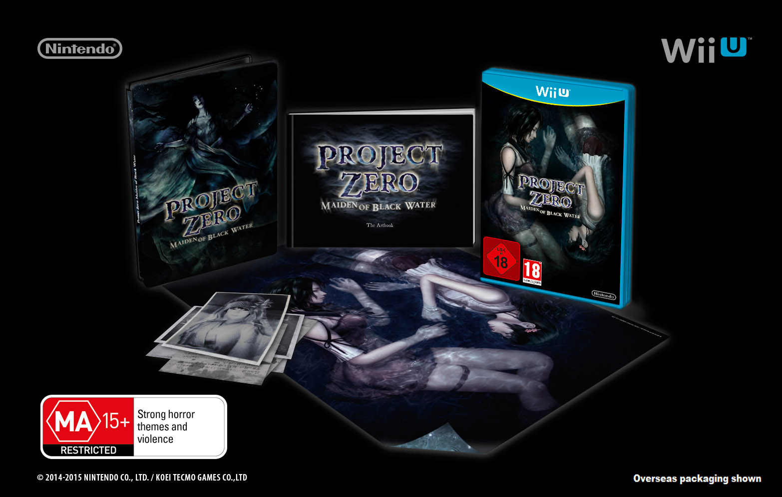 Project Zero Maiden of Black  Water Limited Edition