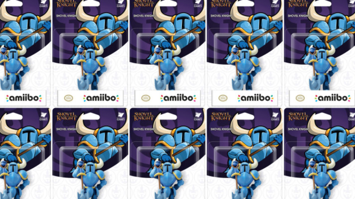 The Shovel Knight amiibo is in Australian stores now