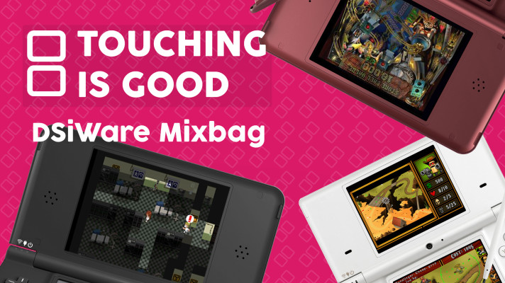 Watch: Touching is Good Episode 4: DSiWare Mix Bag