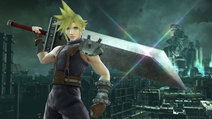 Cloud Strife from Final Fantasy VII coming to Super Smash Bros.