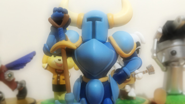 Hands on: Shovel Knight amiibo and game update details