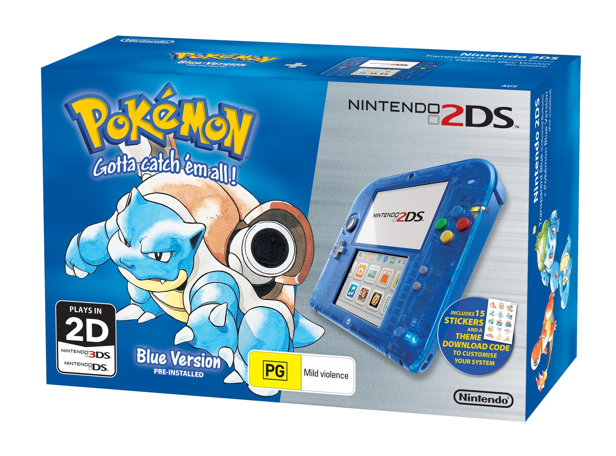 pokemon red blue and yellow bundles set for australian release the bundles will retail for 149 95 and include a virtual console copy of the game stickers and the matching home menu theme
