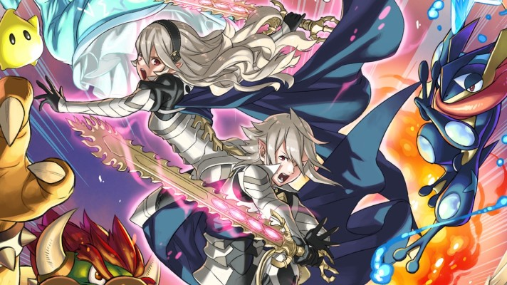 Corrin & Bayonetta have arrived in Super Smash Bros.