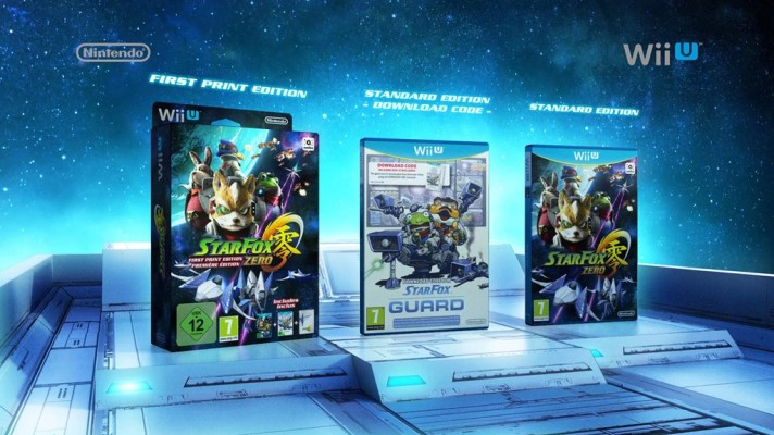 Star Fox Zero out April 23rd, First Print edition with Star Fox Guard announced