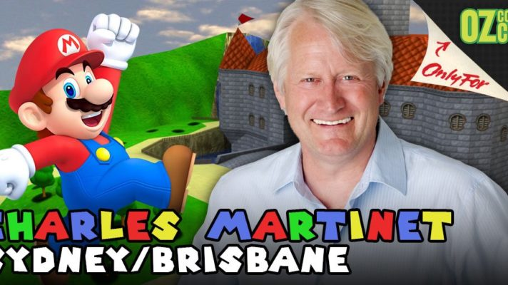 Charles Martinet set to appear at OzComicCon