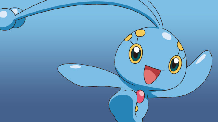 Mythical Pokémon Manaphy available to download now