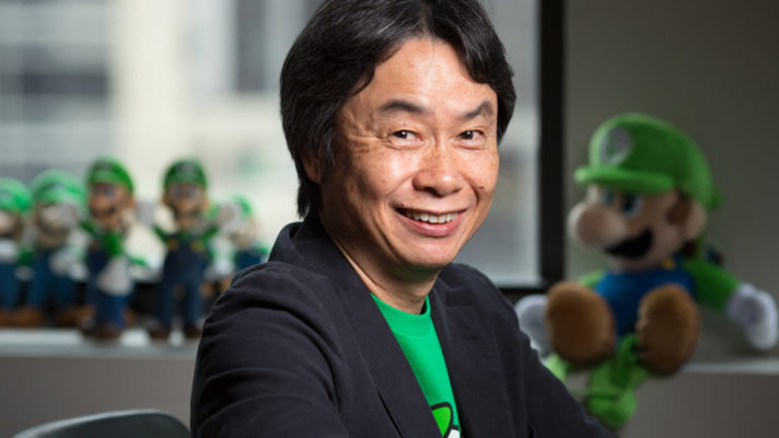 Shigeru Miyamoto the first game developer to be recognised as a Person of Cultural Merit in Japan