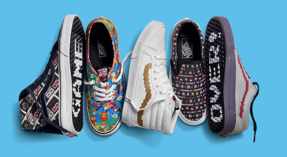 4d6662bd61 Vans X Nintendo Collection goes on sale starting this week - Vooks