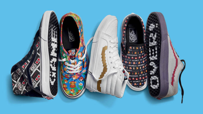 The Vans X Nintendo Collection is out today and really expensive