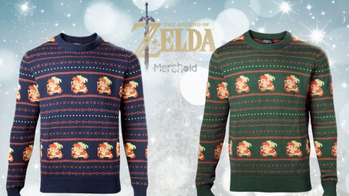 Official The Legend of Zelda sweaters just in time for 'winter'