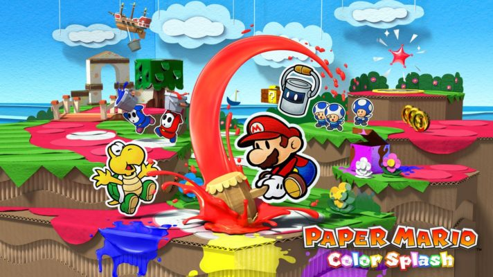 Paper Mario: Colour Splash Leaked Early