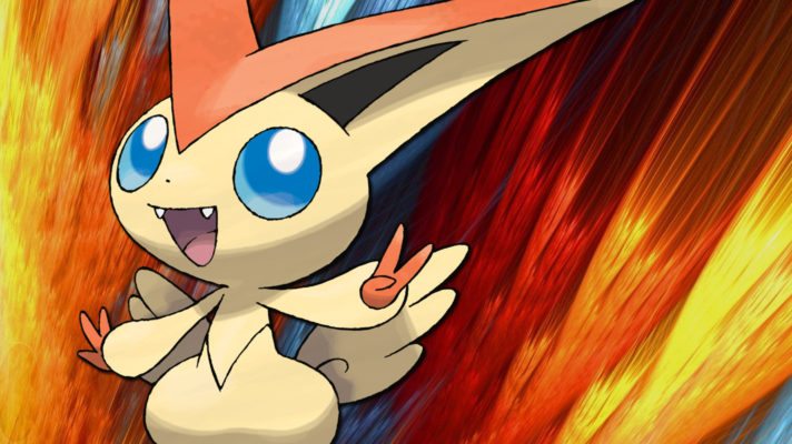 Your September Mythical Pokémon, Victini is ready to download
