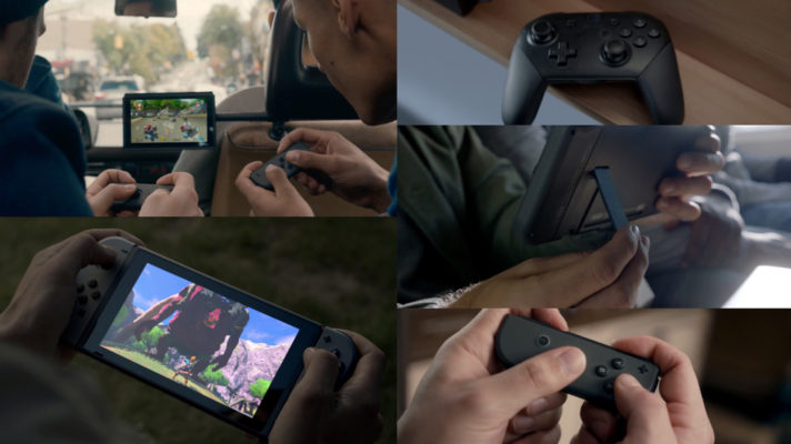 Introducing the Nintendo Switch's Joy-Con and Pro Controllers