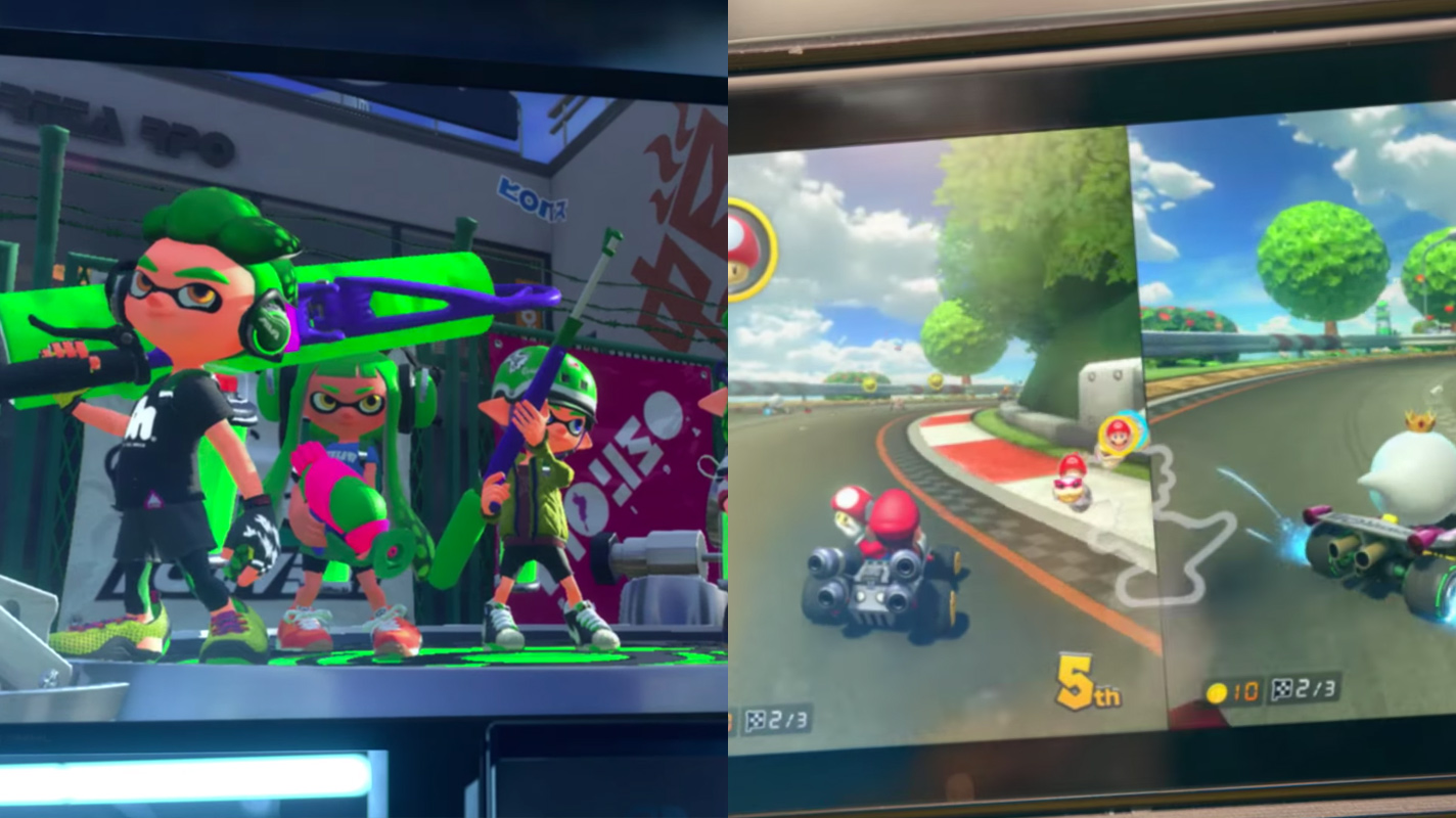 splatoon and mario kart 8 coming to nintendo switch with apparent added content switch news. Black Bedroom Furniture Sets. Home Design Ideas