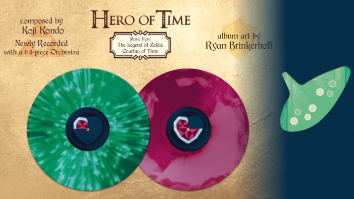Want the Ocarina of Time soundtrack on vinyl? Here's where to get it