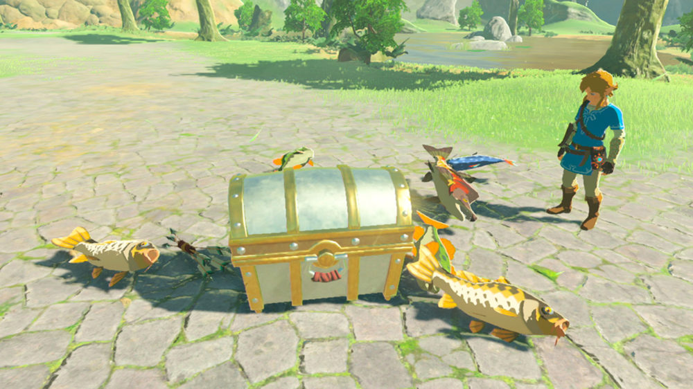 Breath of the Wild Shows a New Area, More Gameplay