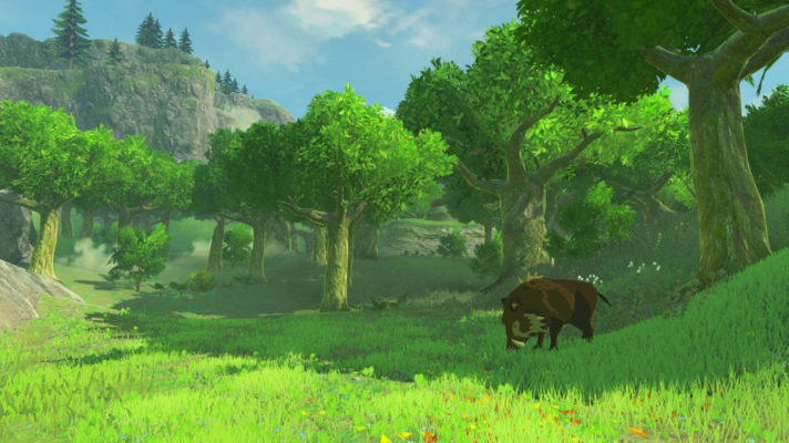 New Breath of the Wild Gameplay revealed at The Game Awards
