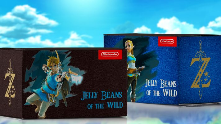 The Legend of Zelda: Breath of the Wild themed Jelly Beans added to My Nintendo [April Fools]